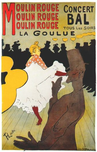 Moulin Rouge: La Goulue, Toulouse Lautrec, 1891