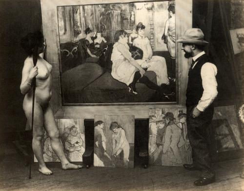 Retrato Lautrec